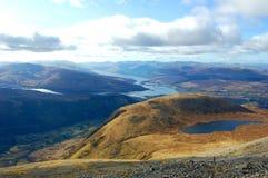 Άποψη από το ben Nevis Στοκ φωτογραφία με δικαίωμα ελεύθερης χρήσης