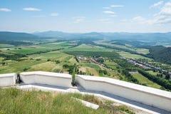 Άποψη από το Castle Fuzer στην Ουγγαρία Στοκ Εικόνες