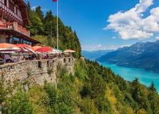 Άποψη από το Harderkulm στην Ελβετία Στοκ φωτογραφία με δικαίωμα ελεύθερης χρήσης