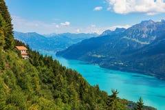 Άποψη από το Harderkulm στην Ελβετία Στοκ Εικόνες