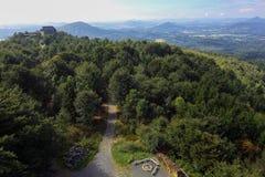 Άποψη από το Hochwald Στοκ φωτογραφία με δικαίωμα ελεύθερης χρήσης