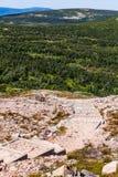 Άποψη από το Mont Ζακ-Cartier στοκ εικόνα με δικαίωμα ελεύθερης χρήσης