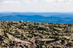 Άποψη από το Mont Ζακ-Cartier στοκ φωτογραφίες