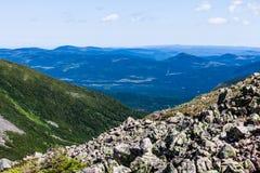 Άποψη από το Mont Ζακ-Cartier στοκ φωτογραφία