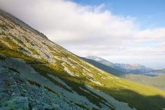 Άποψη από το pleso Skalnate, βουνά Tatras, Σλοβακία Στοκ εικόνα με δικαίωμα ελεύθερης χρήσης
