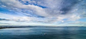 Άποψη από το Point Loma Στοκ εικόνες με δικαίωμα ελεύθερης χρήσης