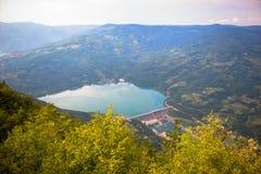 Άποψη από το stena Banjska στο βουνό της Tara στοκ φωτογραφία με δικαίωμα ελεύθερης χρήσης