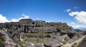 Άποψη από το tepui Roraima σε Kukenan, Βενεζουέλα Στοκ εικόνα με δικαίωμα ελεύθερης χρήσης