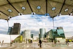 Άποψη από Arche de Λα Defense Στοκ Φωτογραφία