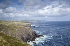 Άποψη από Fahan, Dingle χερσόνησος, Ιρλανδία Στοκ φωτογραφίες με δικαίωμα ελεύθερης χρήσης