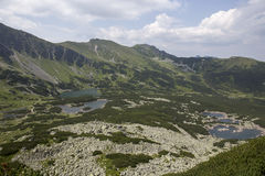 Άποψη από Karb στα tatra-βουνά Στοκ φωτογραφία με δικαίωμα ελεύθερης χρήσης