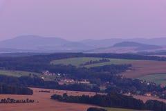Άποψη από Loebauer Berg Στοκ φωτογραφίες με δικαίωμα ελεύθερης χρήσης