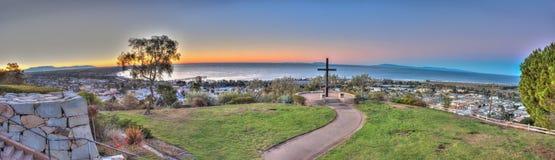 Άποψη από Oxnard Ventura στη λεωφόρο στοκ φωτογραφία
