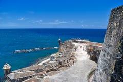 Άποψη από SAN Felipe del Morro Fort Στοκ Εικόνες