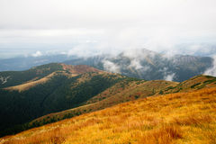 Άποψη από Volovec στα βουνά Tatra Στοκ φωτογραφίες με δικαίωμα ελεύθερης χρήσης