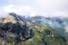 Άποψη από Volovec στα βουνά Tatra Στοκ εικόνα με δικαίωμα ελεύθερης χρήσης