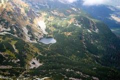 Άποψη από Volovec στα βουνά Tatra Στοκ εικόνες με δικαίωμα ελεύθερης χρήσης