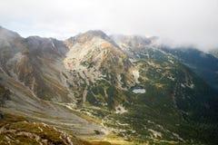 Άποψη από Volovec στα βουνά Tatra Στοκ Εικόνα
