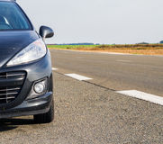 Άποψη αυτοκινήτων από το μέτωπο στοκ εικόνες με δικαίωμα ελεύθερης χρήσης