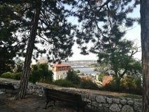 Άποψη Βελιγράδι Kalemegdan στοκ φωτογραφίες με δικαίωμα ελεύθερης χρήσης