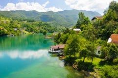 Άποψη Βοσνία-Ερζεγοβίνη Στοκ εικόνα με δικαίωμα ελεύθερης χρήσης