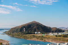 Άποψη βουνού στην Ιαπωνία Στοκ Εικόνες