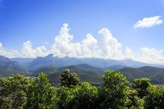 Άποψη βουνών στο γιο της Mae Hong, Ταϊλάνδη στοκ φωτογραφία με δικαίωμα ελεύθερης χρήσης