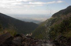 Άποψη βουνών της Ρουμανίας στοκ φωτογραφίες