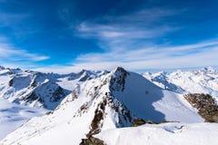Άποψη βουνών Στοκ Φωτογραφία