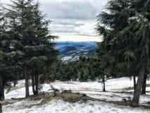 Άποψη βουνών Στοκ εικόνες με δικαίωμα ελεύθερης χρήσης