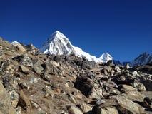 Άποψη βουνών Himalayan Στοκ Φωτογραφίες