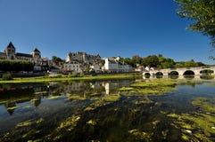 Άποψη Γαλλία του Castle Στοκ εικόνες με δικαίωμα ελεύθερης χρήσης