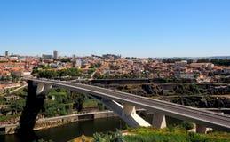 Άποψη γεφυρών Στοκ Φωτογραφίες