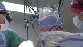 Άποψη γιατροί στη χειρουργική επέμβαση φιλμ μικρού μήκους