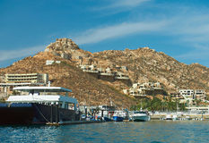 Άποψη γραμμών ακτών Cabo SAN Lucas Στοκ εικόνες με δικαίωμα ελεύθερης χρήσης