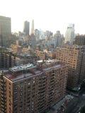 Άποψη διαμερισμάτων της Νέας Υόρκης Στοκ φωτογραφία με δικαίωμα ελεύθερης χρήσης