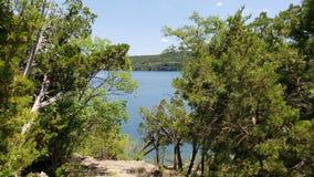 Άποψη δύο του όρμου λιμνών στο κρατικό πάρκο βασίλειων Possum Στοκ εικόνες με δικαίωμα ελεύθερης χρήσης