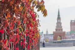 Άποψη εικονικής παράστασης πόλης υποβάθρου του πύργου γεφυρών Yoshkar-Ola Στοκ εικόνες με δικαίωμα ελεύθερης χρήσης