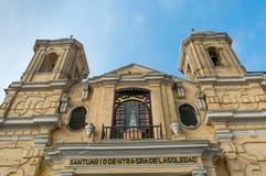Άποψη εκκλησιών SAN Σαν Φρανσίσκο του της Λίμα Περού Στοκ Φωτογραφίες