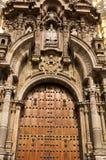 Άποψη εκκλησιών SAN Σαν Φρανσίσκο του της Λίμα Περού Στοκ Εικόνα