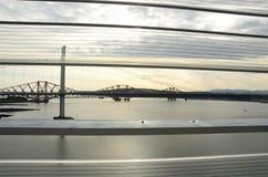 Άποψη εμπρός των γεφυρών Στοκ Φωτογραφίες