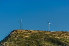 Άποψη ενός ανεμοστροβίλου πάνω από τα βουνά, στην Πορτογαλία στοκ εικόνες με δικαίωμα ελεύθερης χρήσης