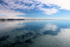 Άποψη ενός αρκτικού τοπίου Στοκ φωτογραφία με δικαίωμα ελεύθερης χρήσης