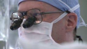 Άποψη ενός γιατρού στη χειρουργική επέμβαση φιλμ μικρού μήκους
