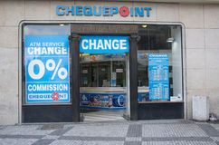 Ένα γραφείο de change Στοκ Εικόνα
