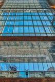 Άποψη ενός σύγχρονου κτηρίου στοκ εικόνα