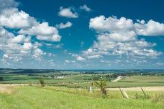 Άποψη ενός τομέα στην πλευρά χωρών του Ιλλινόις Στοκ φωτογραφίες με δικαίωμα ελεύθερης χρήσης