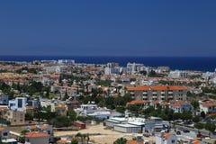 Άποψη ενός χωριού κοντά σε Protaras, Κύπρος Στοκ φωτογραφία με δικαίωμα ελεύθερης χρήσης