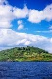 Άποψη επαρχίας στη λίμνη του Λοχ Νες στη Σκωτία Στοκ εικόνα με δικαίωμα ελεύθερης χρήσης