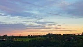 Άποψη επαρχίας Landcape Στοκ εικόνες με δικαίωμα ελεύθερης χρήσης